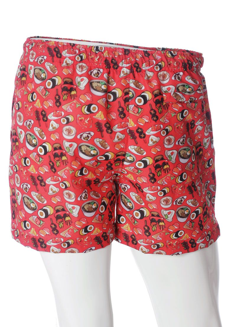 SHORTS ESTAMPADO #FOODPORN SUSHI FULL PRINT UNISSEX