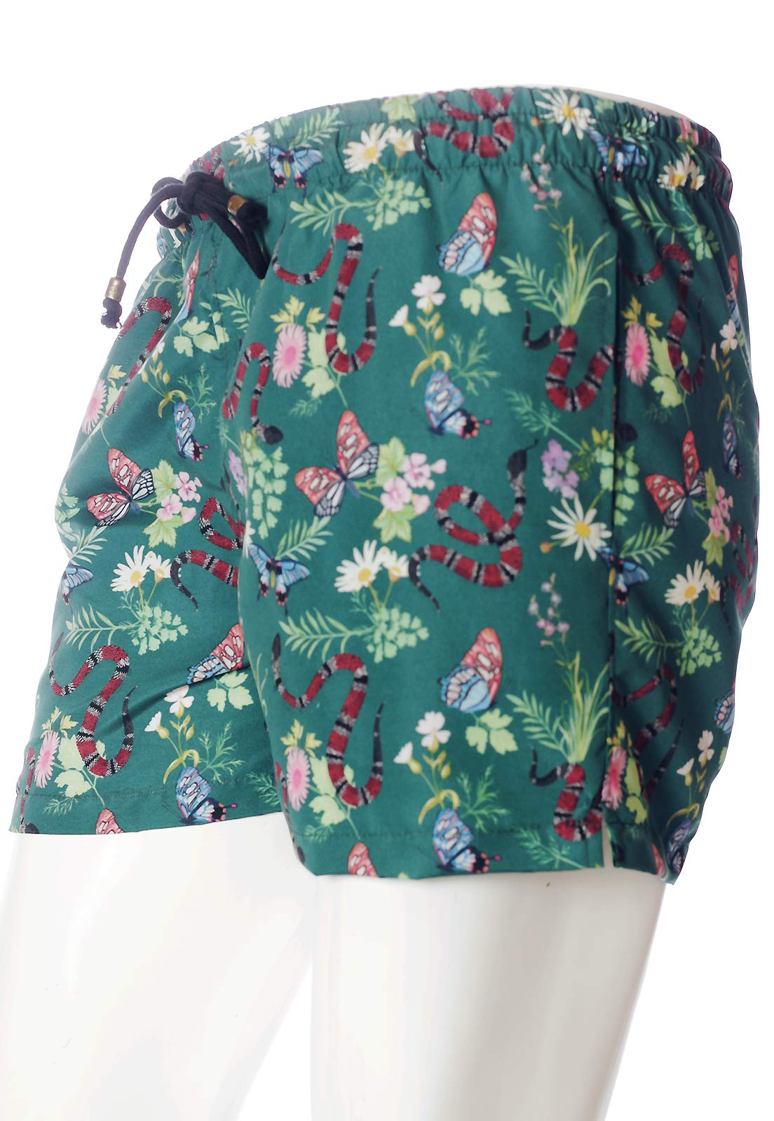SHORTS ESTAMPADO FULL PRINT UNISSEX COBRA CORAL