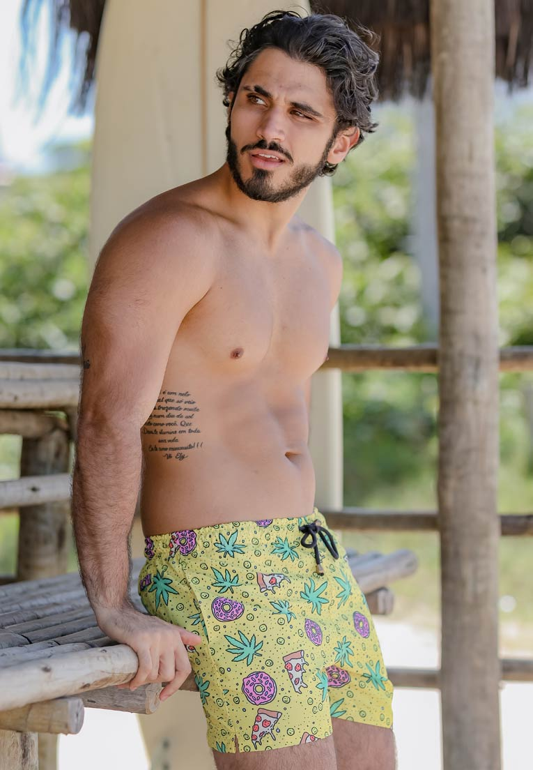 SHORTS ESTAMPADO LARICA FULL PRINT UNISSEX