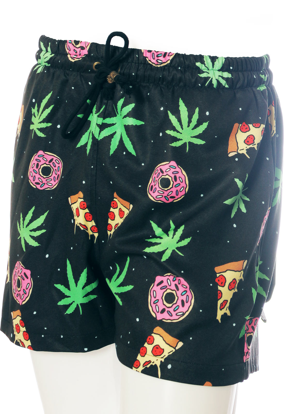 Shorts Estampado Legalize Sem Gênero Black Mary Jane Preto
