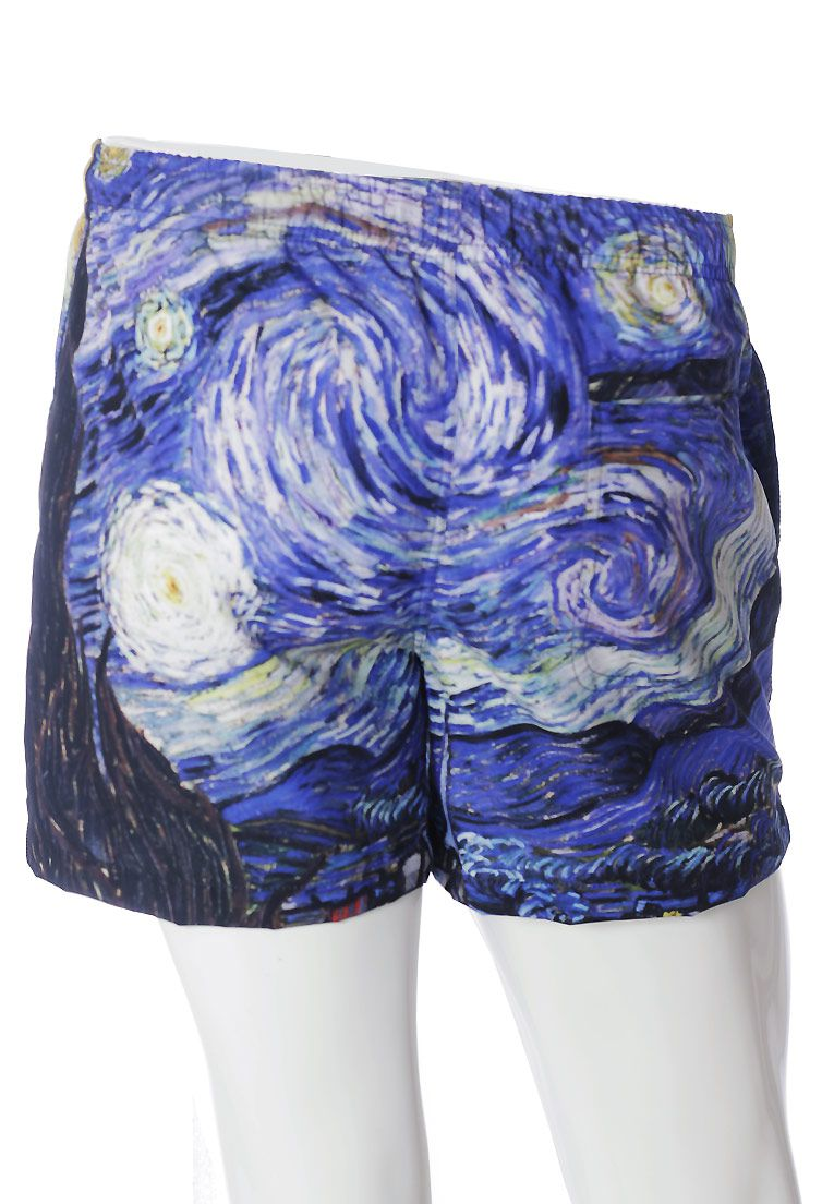 SHORTS ESTAMPADO VAN GOGH FULL PRINT UNISSEX