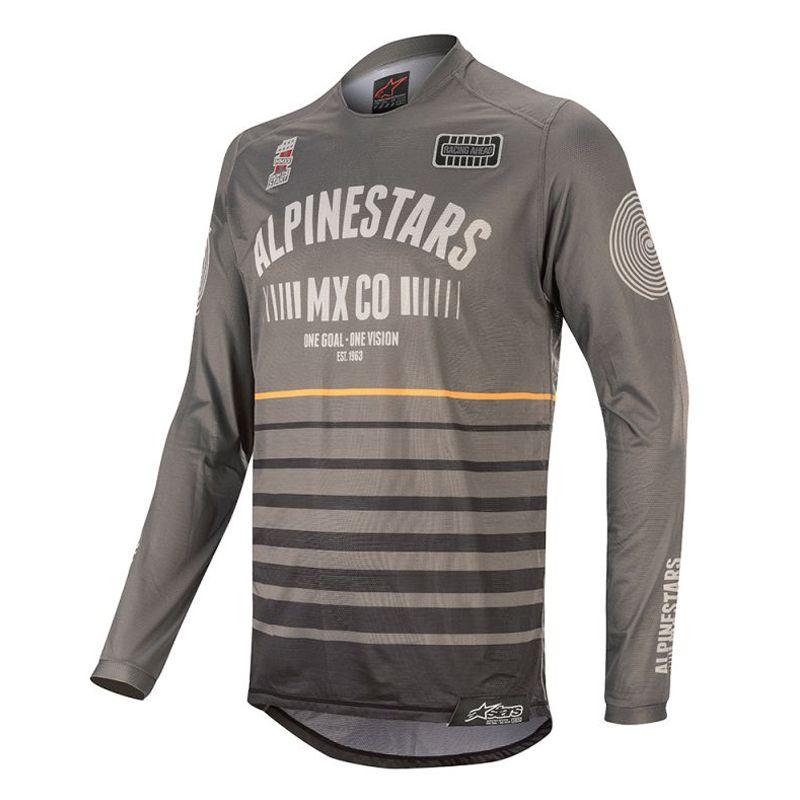Camisa Alpinestars Racer Tech Flagship     Dark Gray