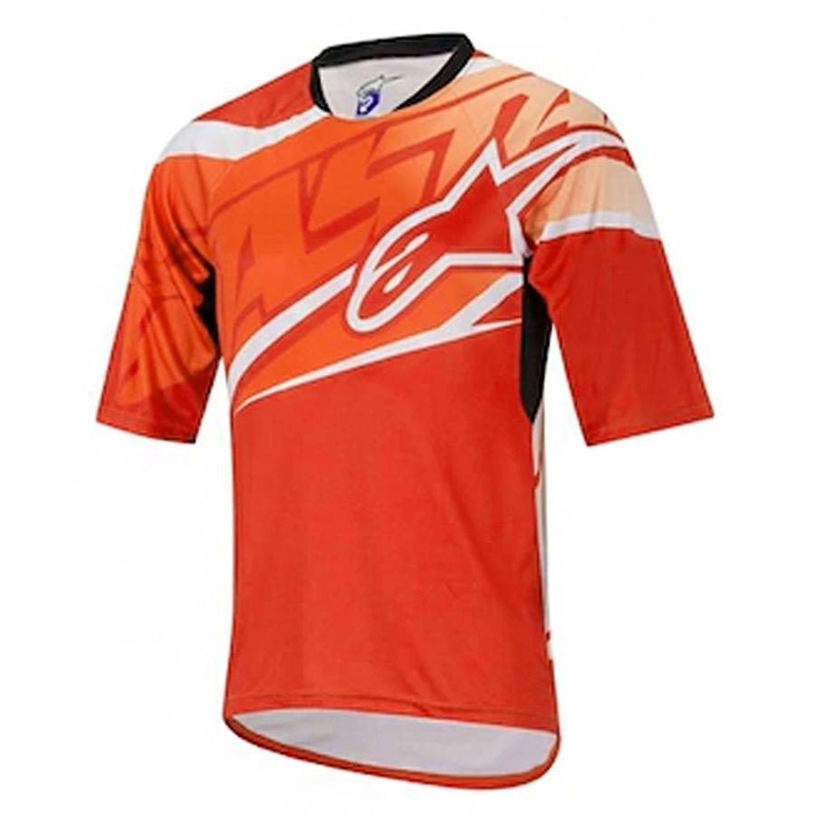 Camisa Alpinestars Sight Spicy Orange