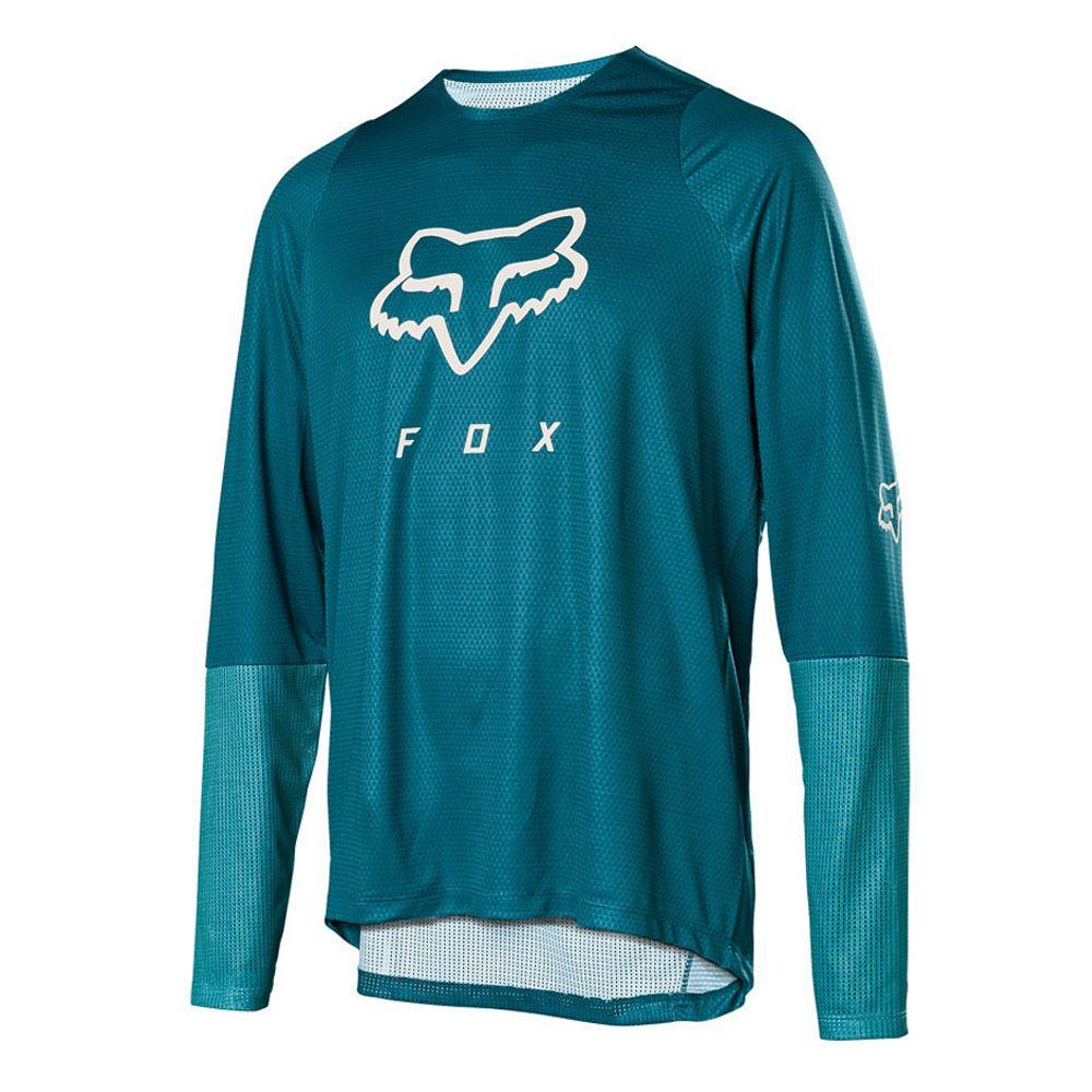 Camisa Fox Defend LS | Maui Blue