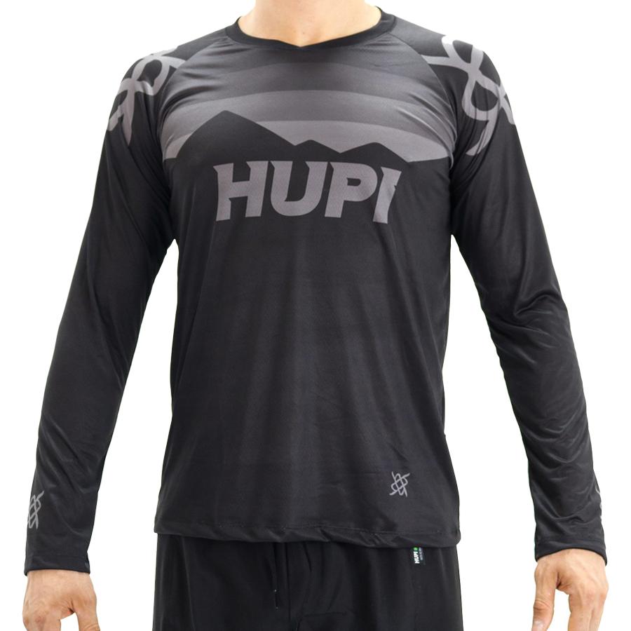 Camisa Hupi Shadow All Black | Preto