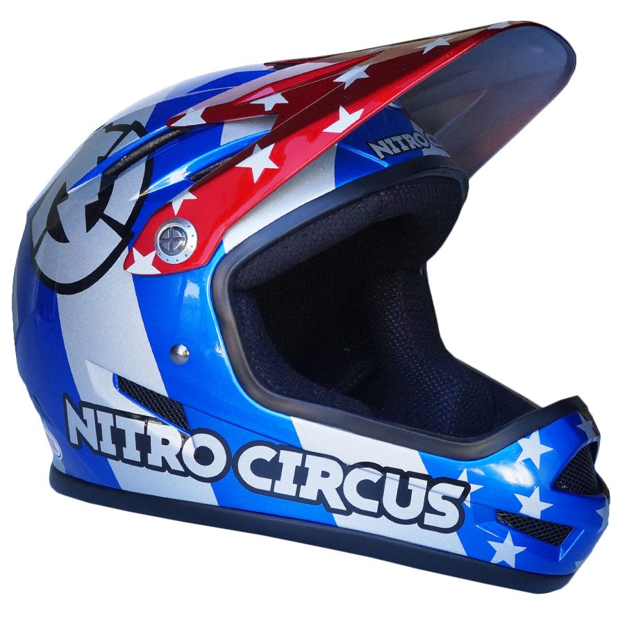 Capacete Bell Sanction Especial Edition Nitro Circus