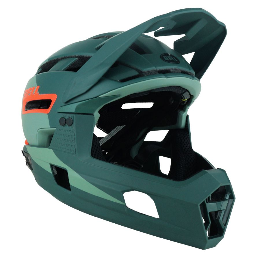 Capacete Bell Super Air R Green/Infrared