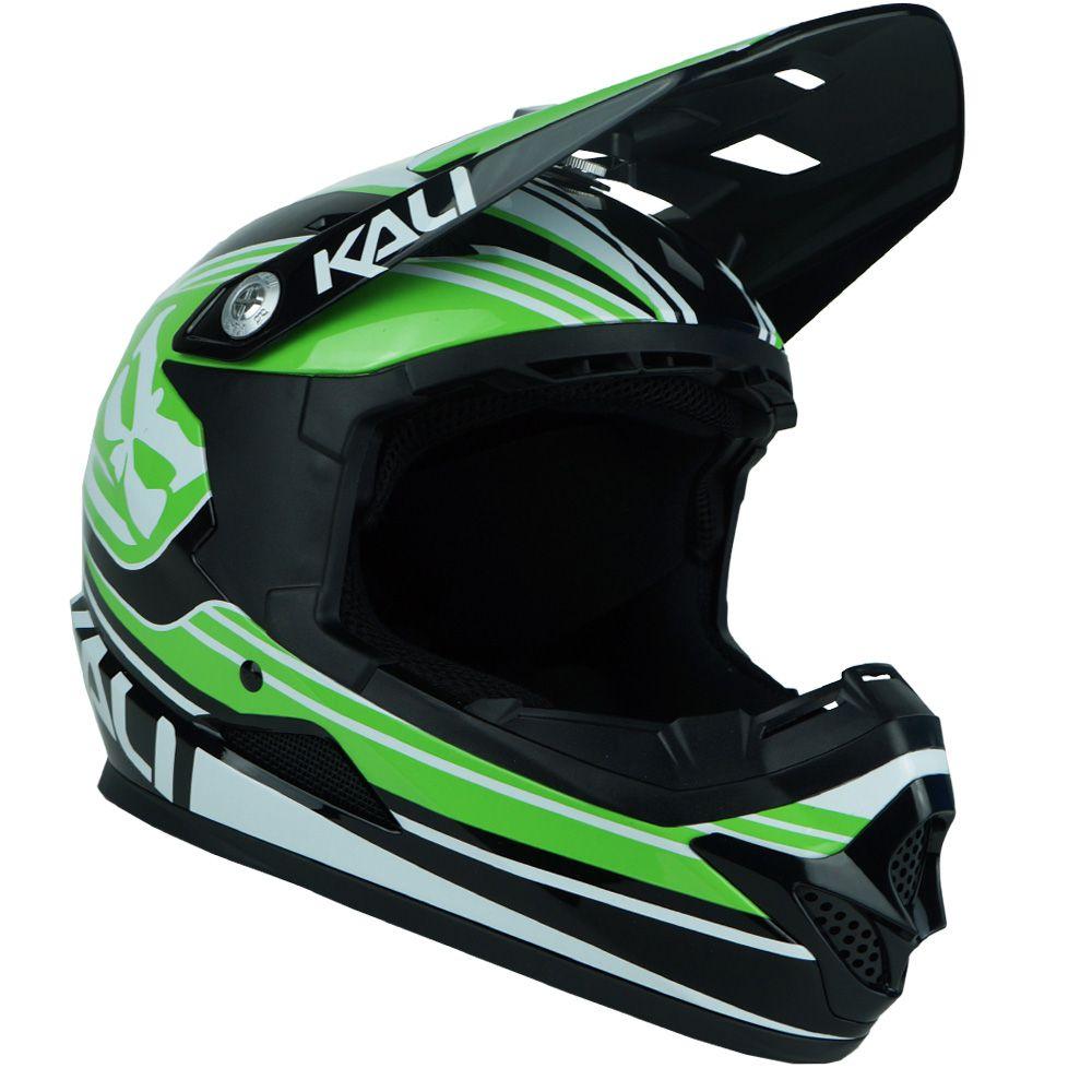 Capacete Kali Naka Slash DH | Green / Black