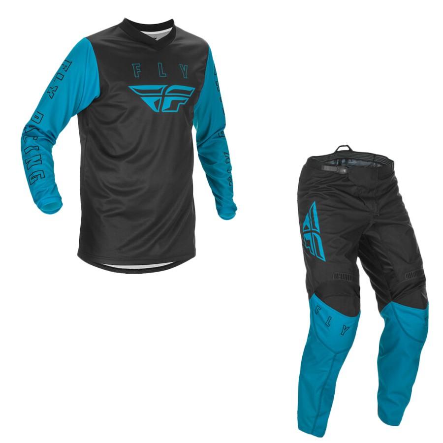 Conjunto Calça + Camisa Fly F16 2021   Azul