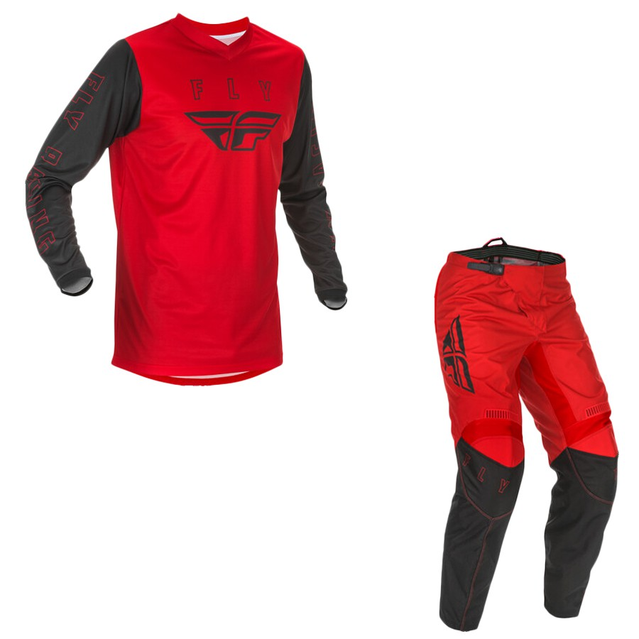 Conjunto Calça + Camisa Fly F16 2021   Vermelho