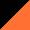 Preto/Logo Laranja