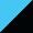 Azul claro/Preto