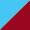 Azul claro/Vermelho