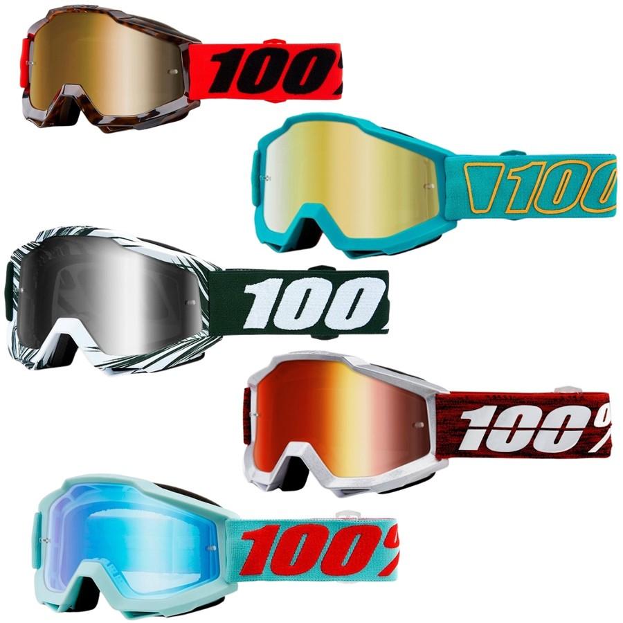 Óculos 100% Accuri | Lente Espelhada + Clear