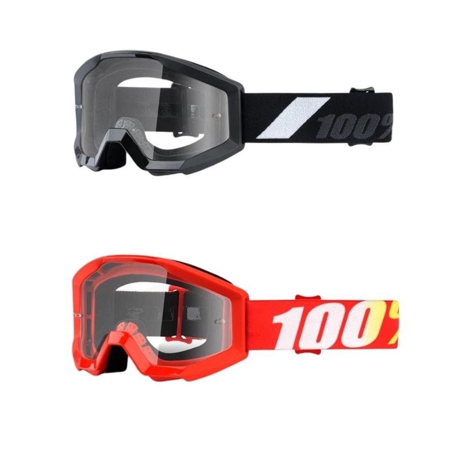 Óculos 100% Strata Jr   Lente Clear