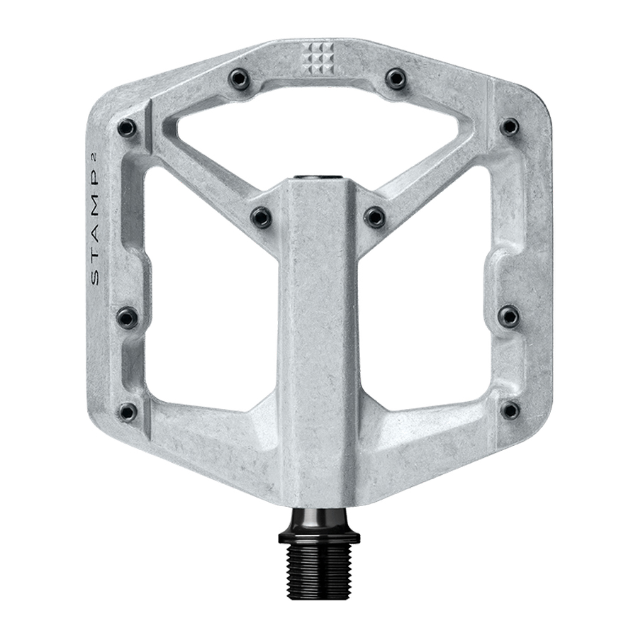 Pedal Flat Crank Brothers Stamp 2 I Raw Silver