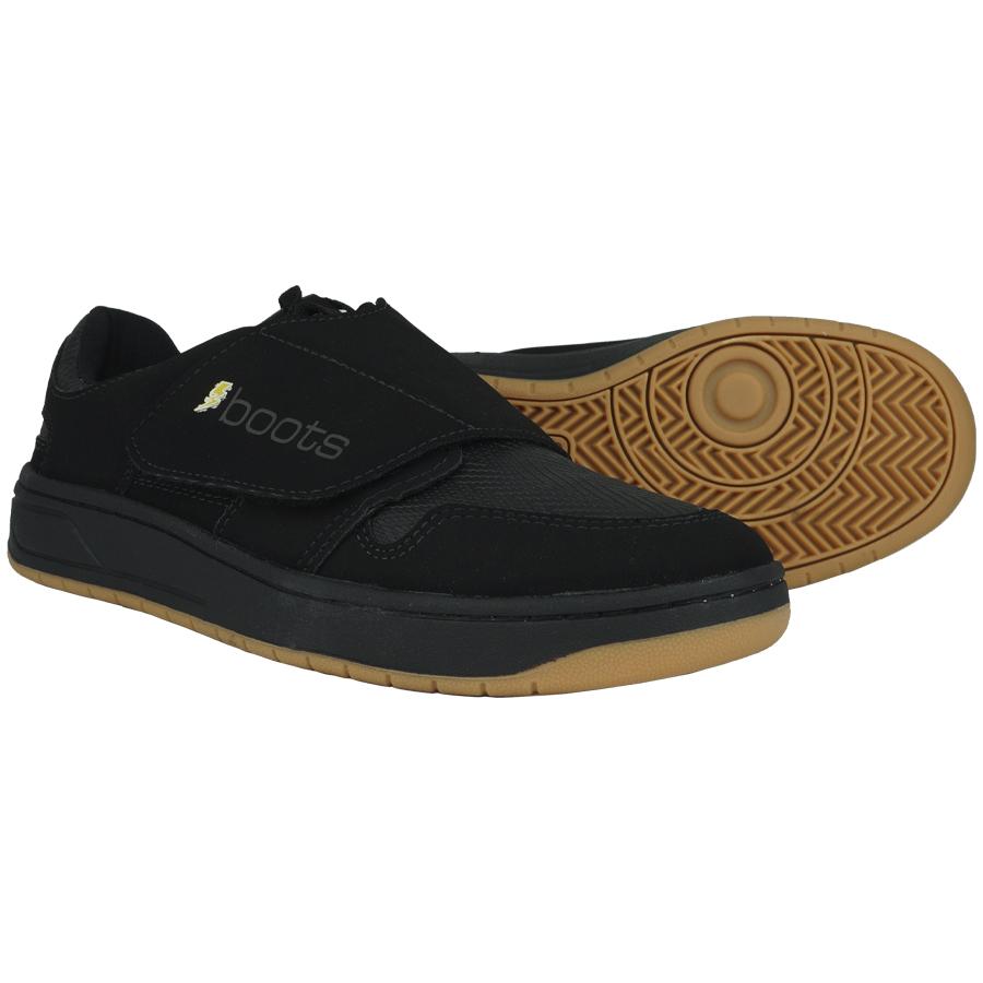 Sapatilha Flat Boots MTB Nobuck Black