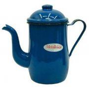Bule Tradicional Esmaltado 900 ml Metallouça Azul