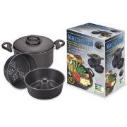 Conjunto Para Cozinhar No Vapor E Banho Maria Nacional