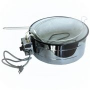 Fritadeira Elétrica Industrial Wanhe 3 litros 110v