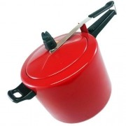 Panela de Pressão Vermelha 10 litros Marmicoc