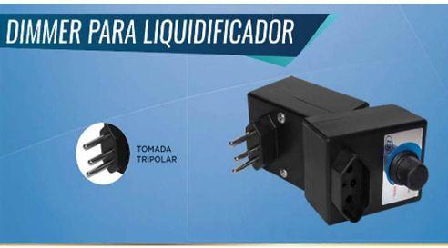 Dimmer Com Caixa E Tomada Para Liquidificador  1000W