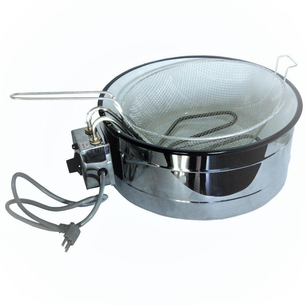 Fritadeira Elétrica Industrial Wanhe 7 litros 110v