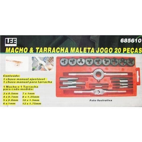 Kit de Macho Manual com 20 Peças de M3 a M12 IDEA ID-9625H