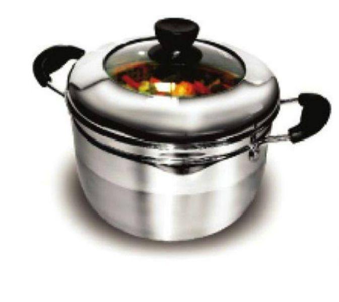 Panela de Cozinhar a Vapor Inox Ke-Home