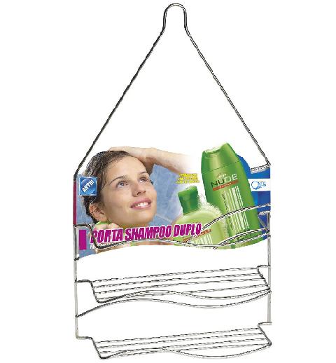 Porta Shampoo Duplo - Arthi