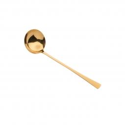 Concha para sopa  de aço inox Berna Dourado Wolff - 71408