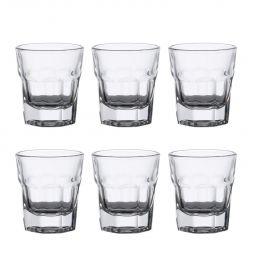 Jogo 6 copos 30ml para shot de vidro transparente Allure Bon Gourmet - 25627