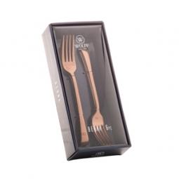 Jogo 6 peças garfo para sobremesa de aço inox  Berna Rose Wolff - 71729