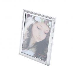 Porta-retrato 20 x 25 cm de plástico prateado Family Prestige - 25509