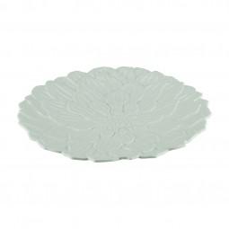 Prato raso 27 cm de porcelana branca Daisy Wolff - 27737