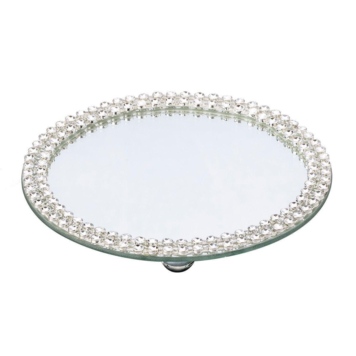 Base, Suporte 25 cm com espelho e acrílico Hills Prestige - 2872