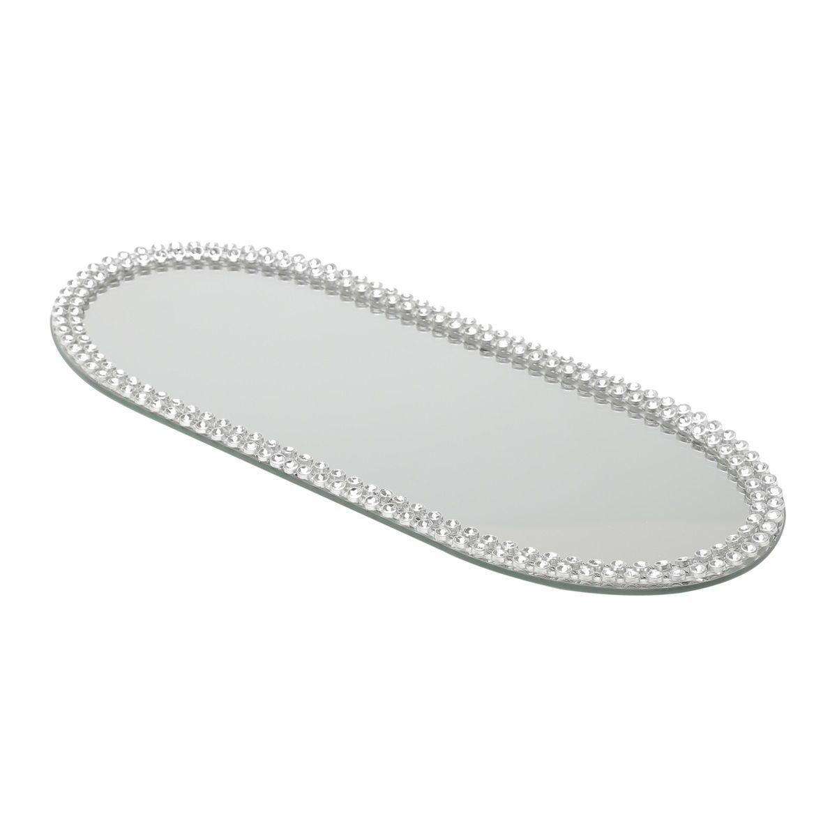 Base, Suporte 30 cm com espelho e acrílico oval Hills Prestige - 2875