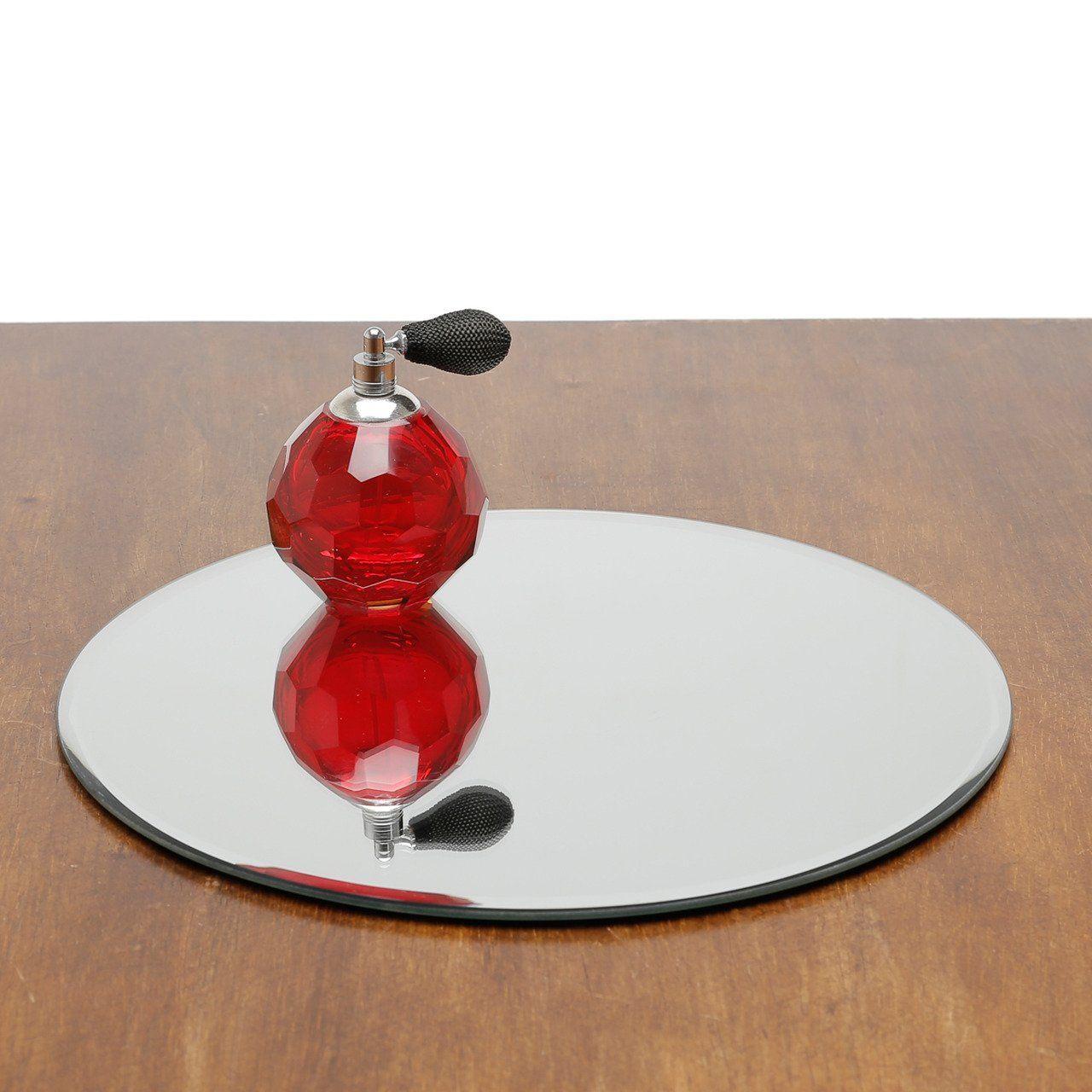 Base, Suporte 30 cm com espelho prateado Prestige - 2868