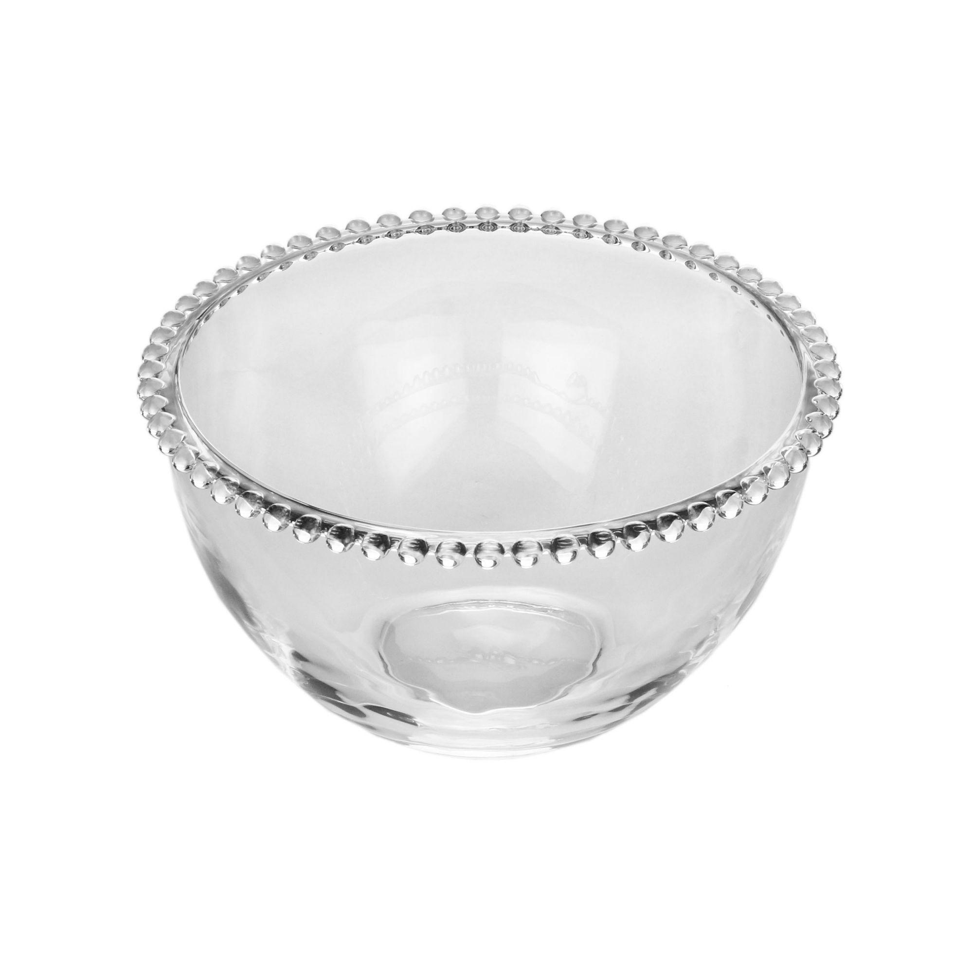 Bowl 21 cm de cristal transparente Pearl Wolff - 27889