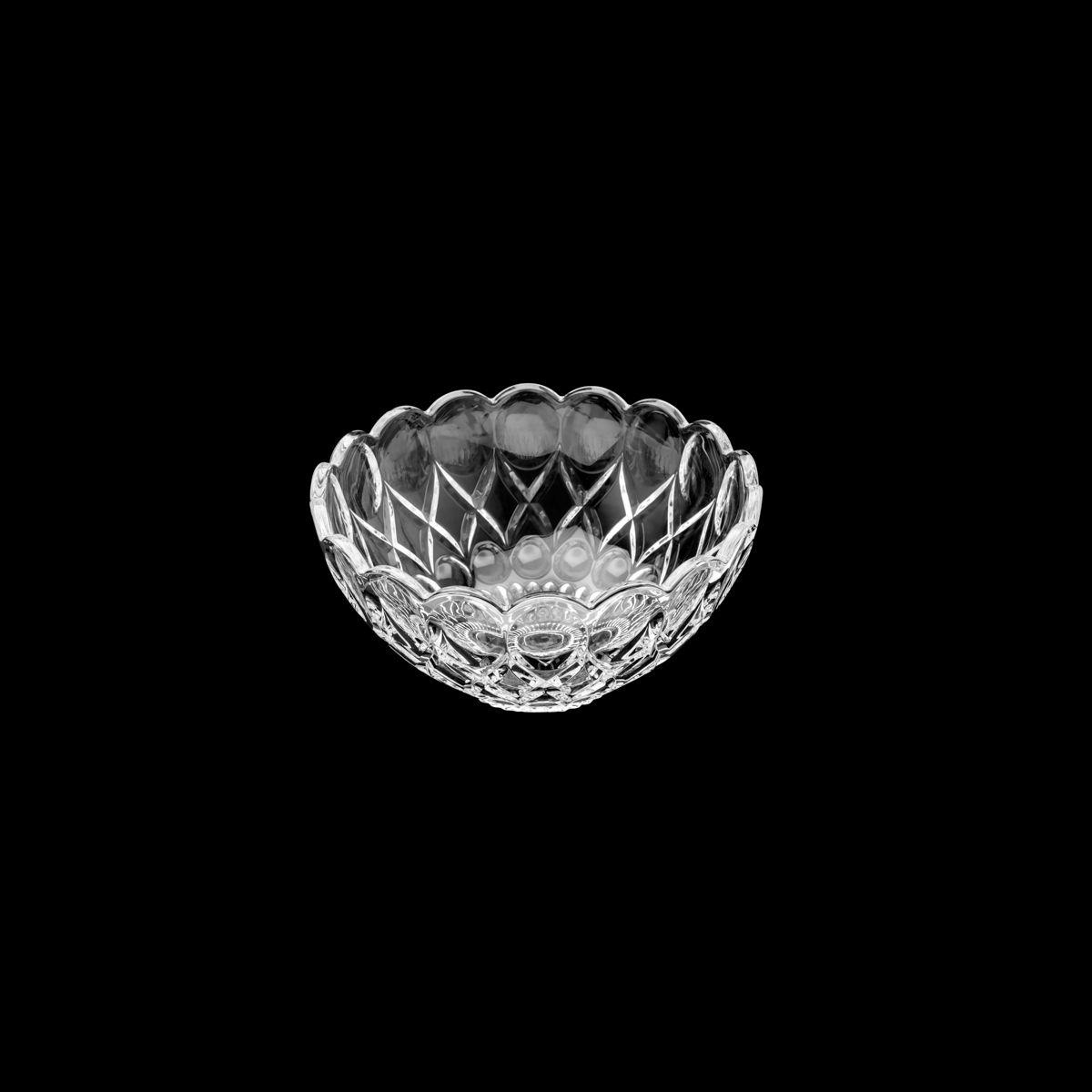Centro de mesa 21,5 cm de cristal transparente Angel Wolff - 35223
