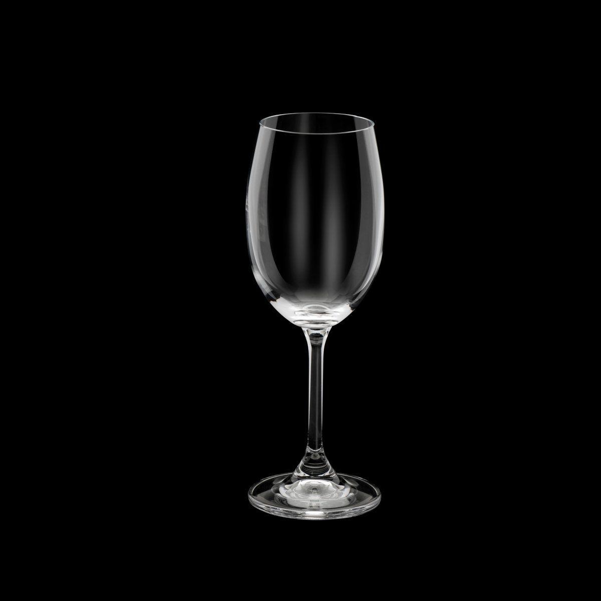 Jogo 6 taças 450ml para vinho tinto de cristal ecológico transparente Gastro Bohemia - 5253