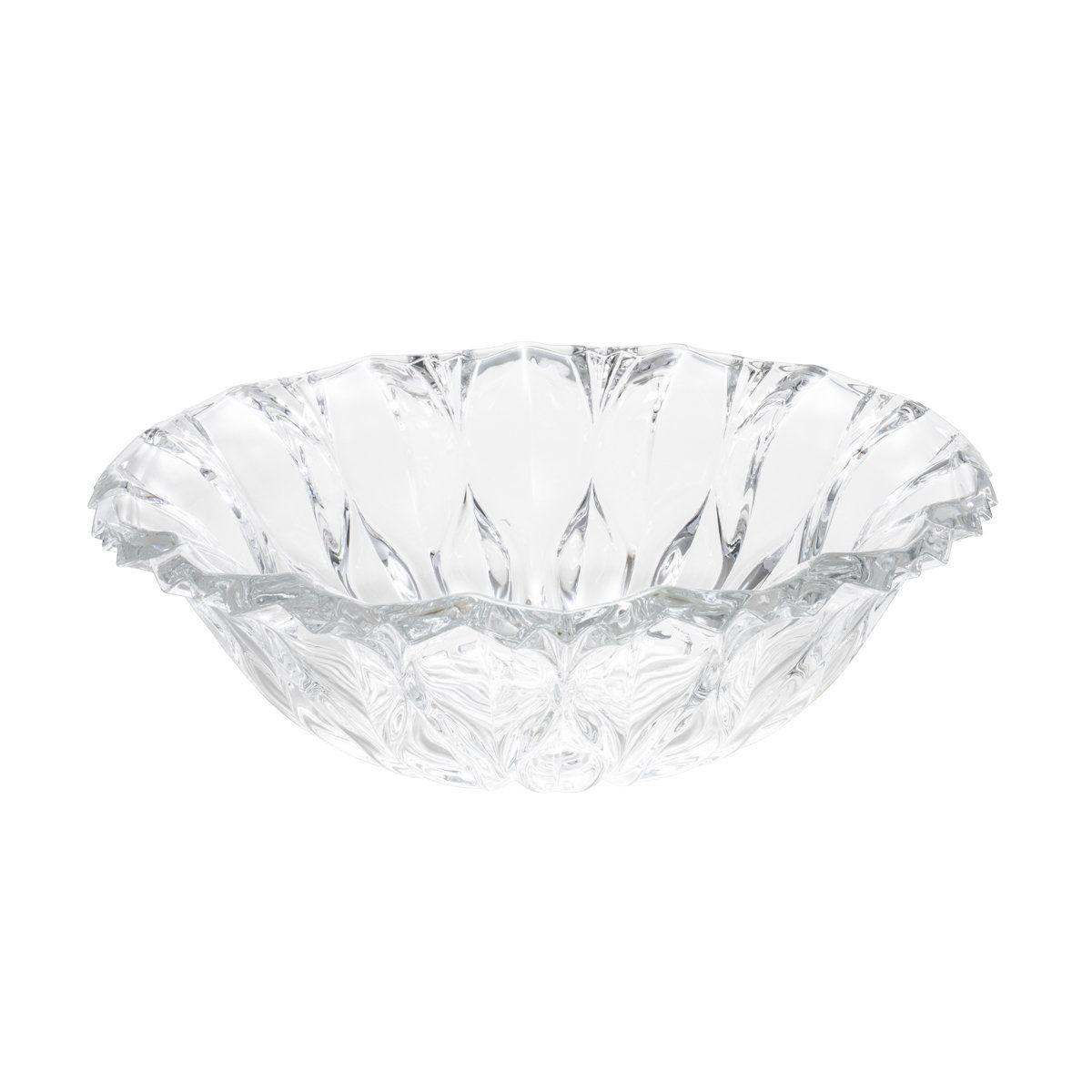 Fruteira 34,5 cm de cristal transparente Louise Wolff - 2360