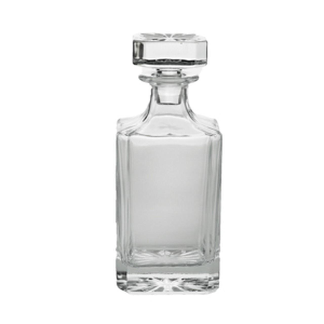 Garrafa Decanter 750ml para whisky de cristal Wolff - 27774
