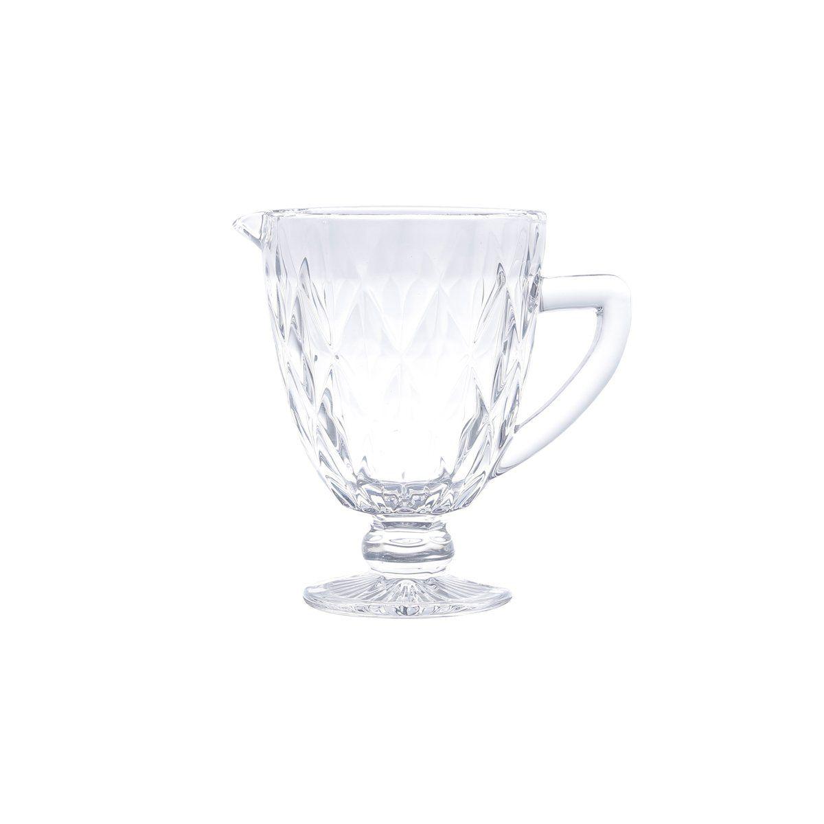 Jarra de 1 litro de vidro transparente Diamond Lyor - L6470