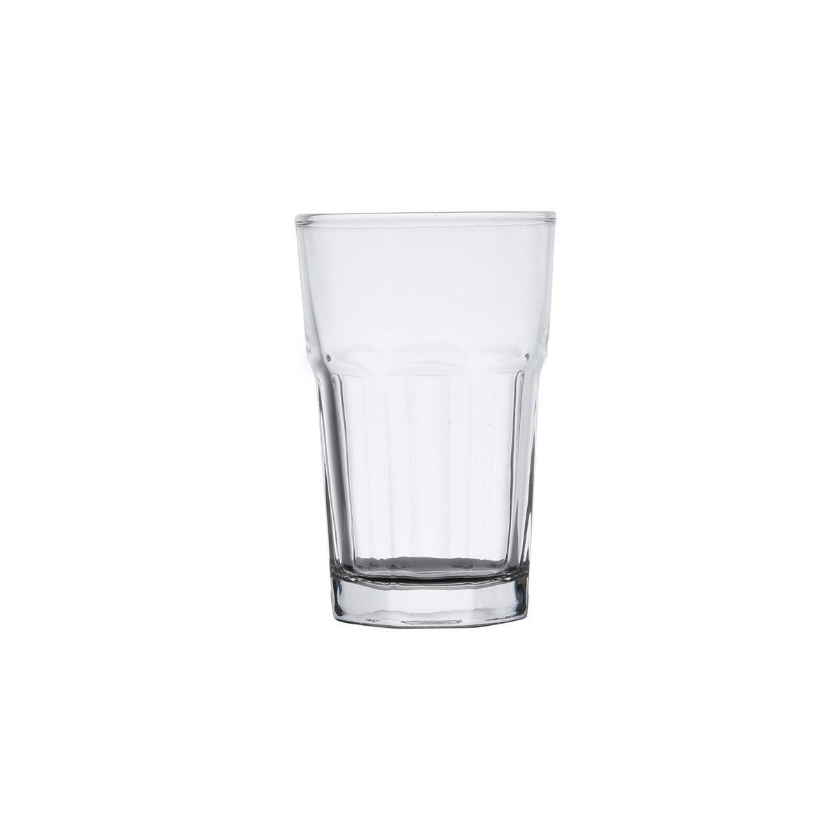 Jogo 6 copos 310ml alto para água e suco de vidro transparente Allure Bon Gourmet - 25629