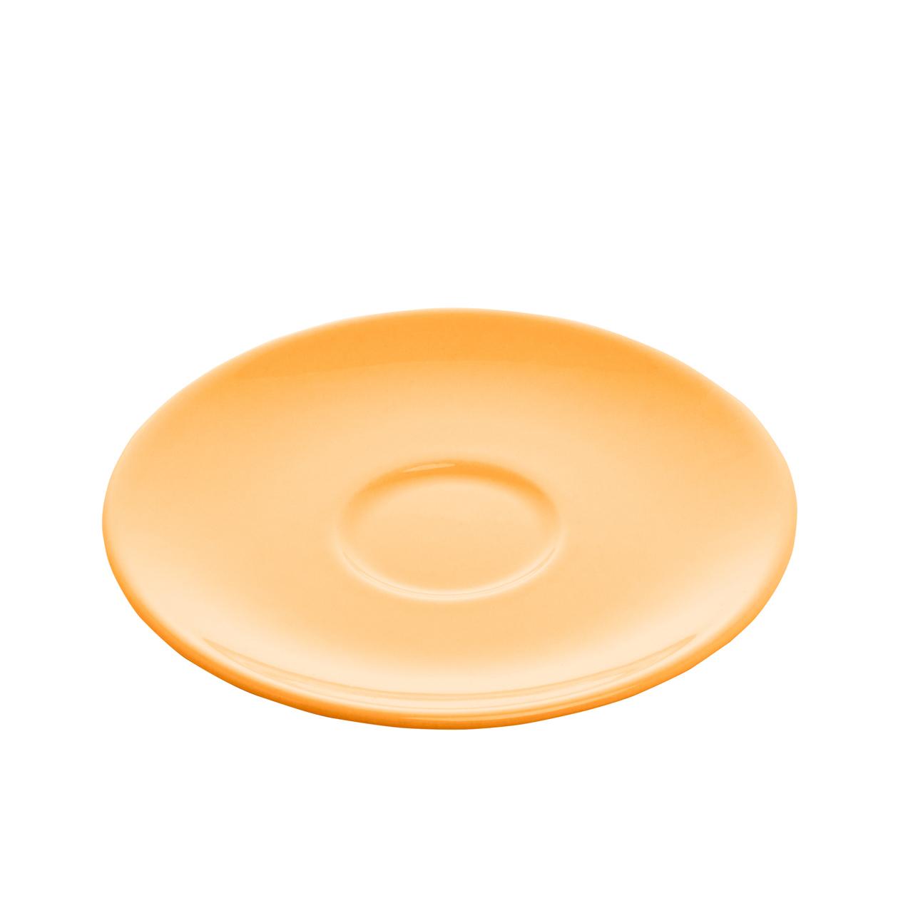Jogo 6 xícaras 200 ml para chá de cerâmica com pires Alanya Flame Wolff - 17497