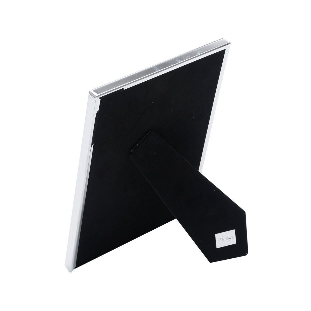 Porta-retrato 13 x 18 cm de plástico prateado Family Prestige - 25507