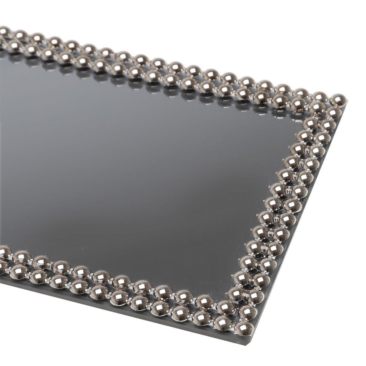 Base, Suporte 32 cm com espelho e acrílico fumê Hills Prestige - 2999