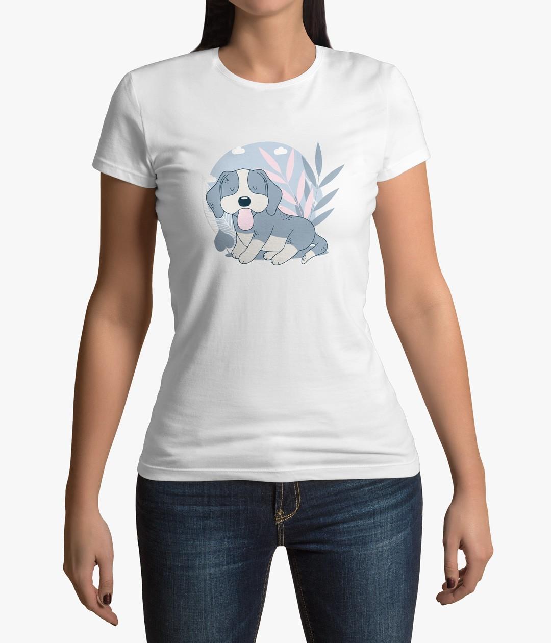 Camiseta Cachorro Fofo