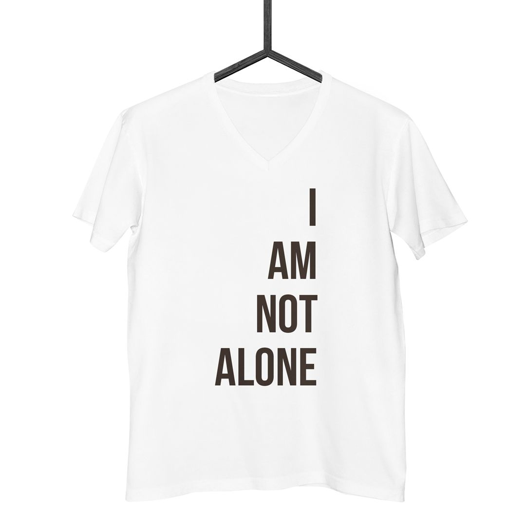 Camiseta I Am Not Alone